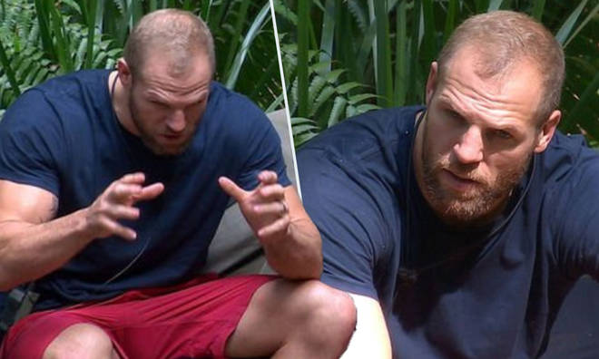 James Haskell 'snapping' because he's hungry says wife