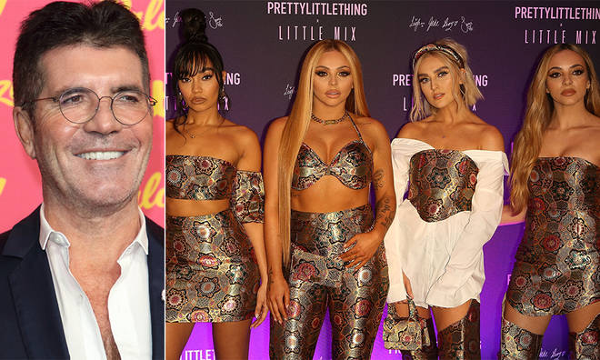 Simon Cowell advised an X factor reject to apply for Little Mix's show