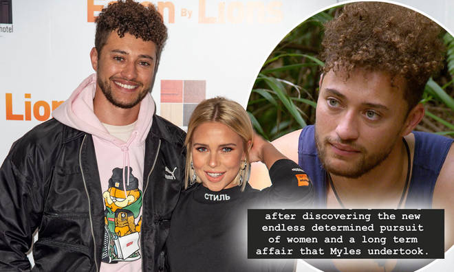 Gabby Allen has shared texts allegedly from ex Myles Stephenson to other women sent during their relationship