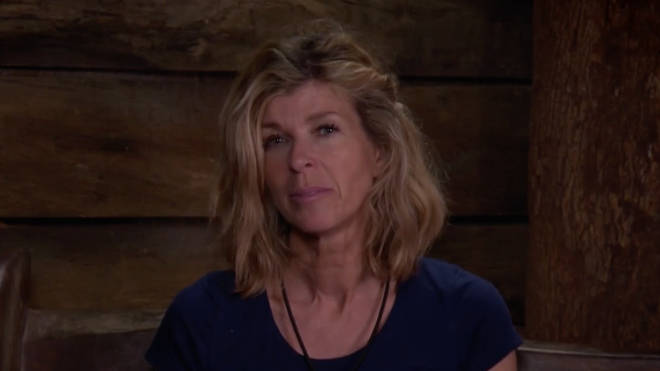 Kate Garraway in the I'm A Celeb jungle