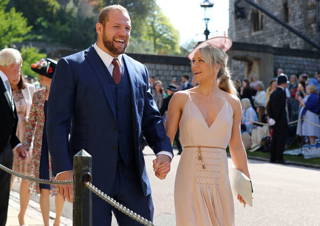 James Haskell is in a relationship with Chloe Madeley