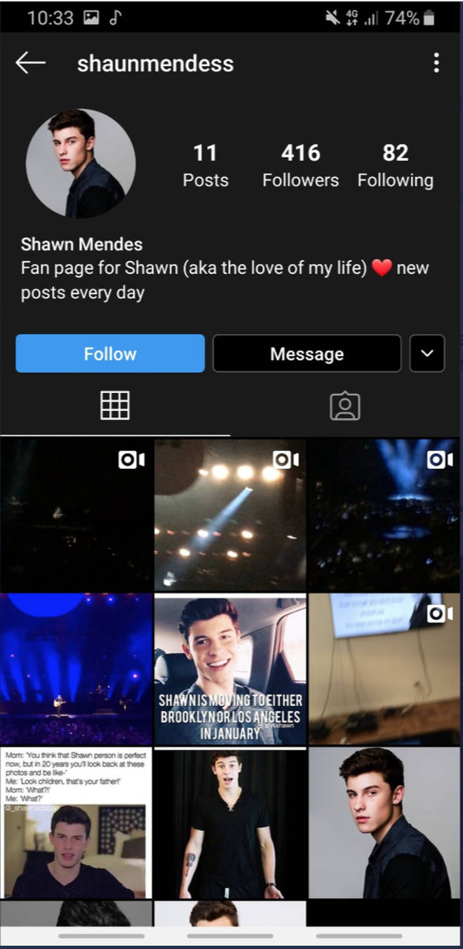 Lewis Hamilton tagged the wrong Shawn Mendes on Instagram