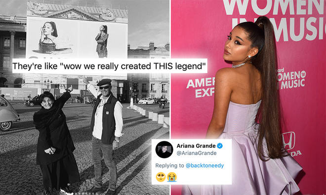 Ariana Grande's parents reunited to watch her show