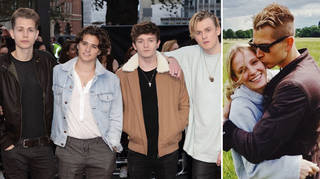 James McVey asked his bandmates to be his bestmen
