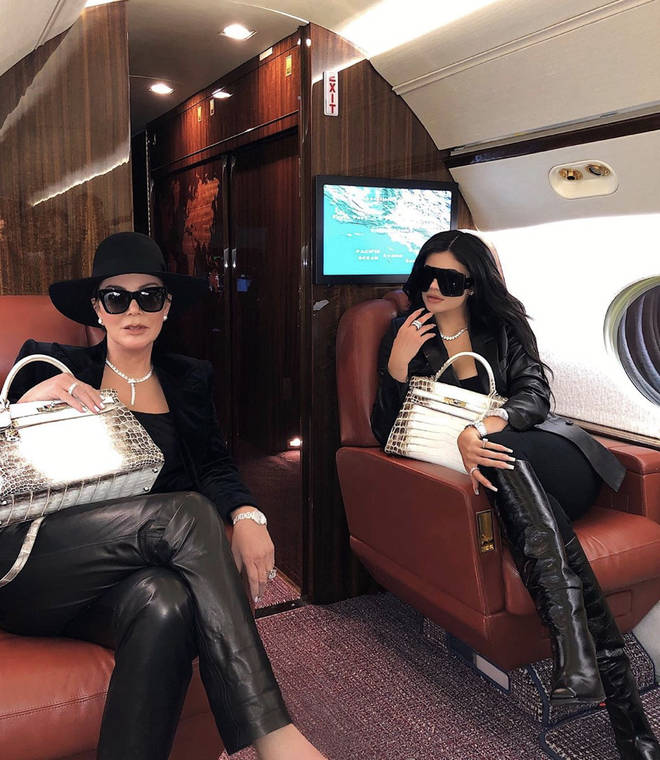 Kylie Jenner uses her private jet regularly