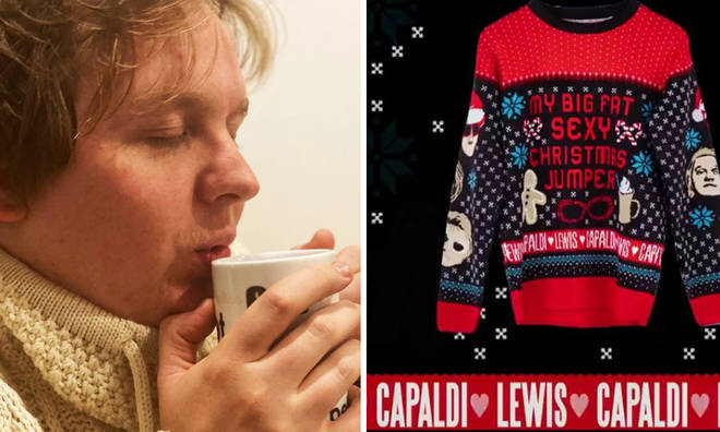 Lewis Capaldi launches limited edition Christmas jumpers