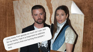 Justin Timberlake has spoken out against cheating allegations