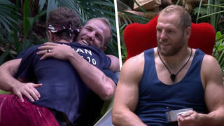 James Haskell spoke about his bond with Roman Kemp