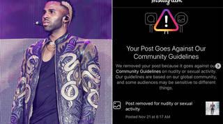 Jason Derulo called out Instagram for 'discrimination'