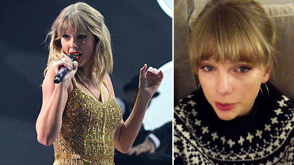 Taylor Swift surprises fans with news she's dropping a Christmas song