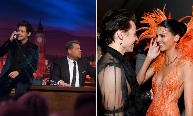 Harry Styles will be joined by Kendall Jenner when h guest hosts The Late Late Show