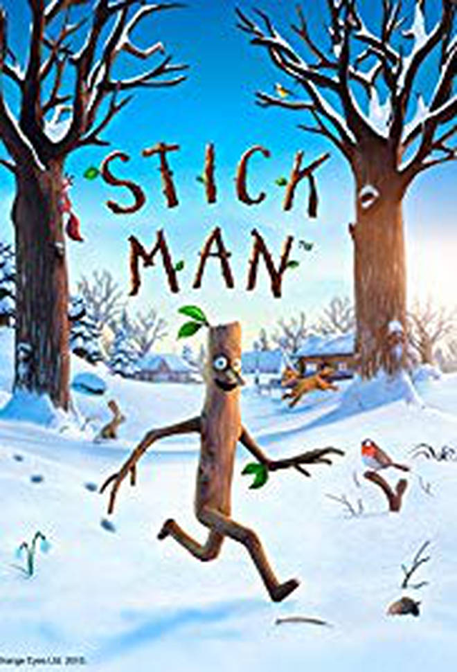 Stick Man will be on TV on Christmas Day