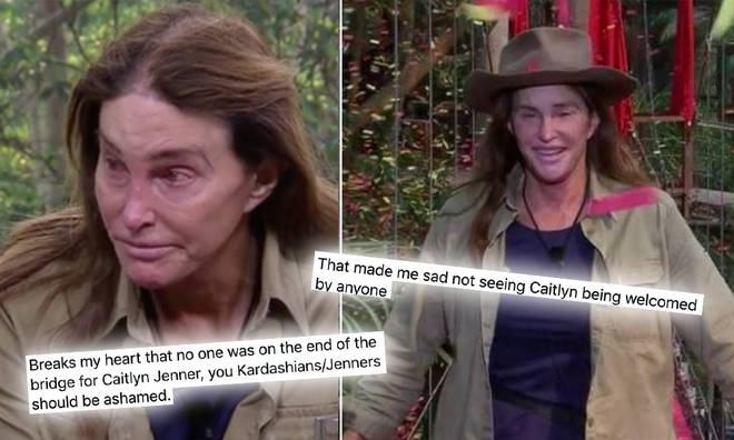 Caitlyn Jenner was the seventh campmate to leave the jungle