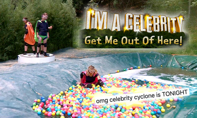 I'm A Celeb's Cyclone challenge is back!