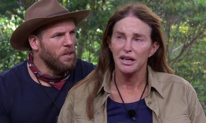 James Haskell and Caitlyn Jenner became good friends in the jungle
