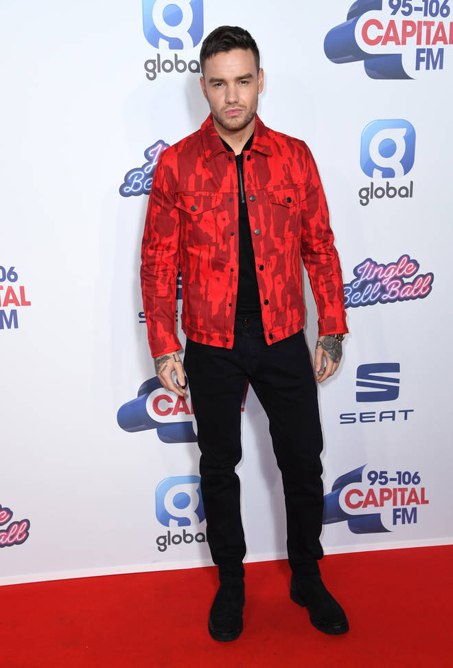 Liam Payne hit the Jingle Bell Ball red carpet