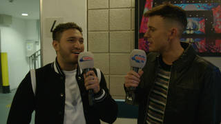 Jonas Blue struggled to find his feature, HRVY, at the #CapitalJBB