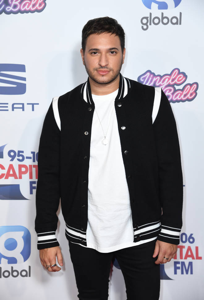 Jonas Blue arriving at Capital's Jingle Bell Ball 2019