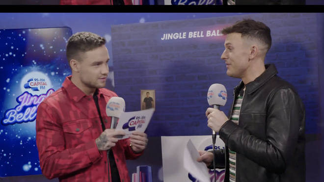 Liam spoke to Jimmy backstage at the Jingle Bell Ball