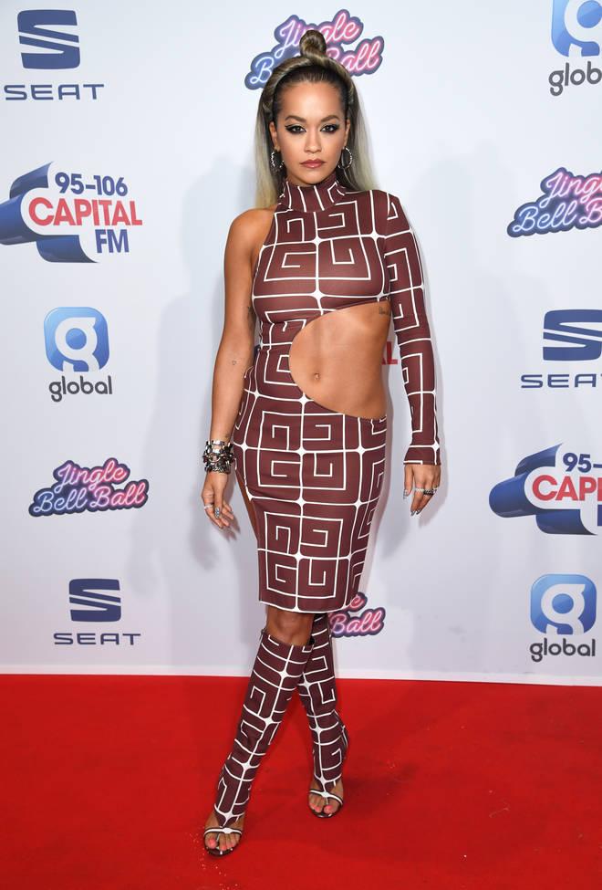 Rita Ora stunned at the JBB