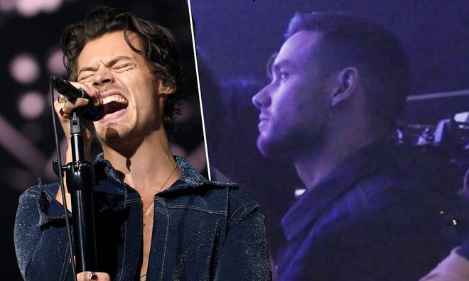 Liam Payne watched Harry Styles perform at the Jingle Bell Ball in 2019.