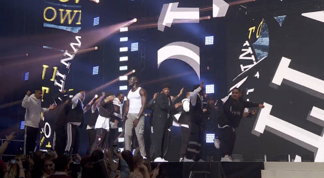 Stormzy blew away fans at the O2
