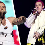 Lauv switched up his hair colour for his first Jingle Bell Ball