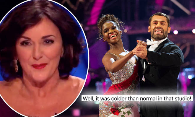 Shirley Ballas commented on Kelvin Fletcher's 'woodpecker'