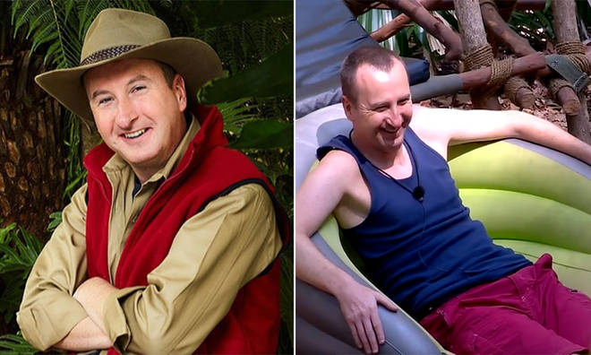 Andy Whyment is in the I'm A Celeb final