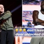 Aitch and Stormzy battled it out at JBB