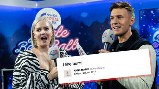 Anne-Marie cracked up at old, cringe tweets