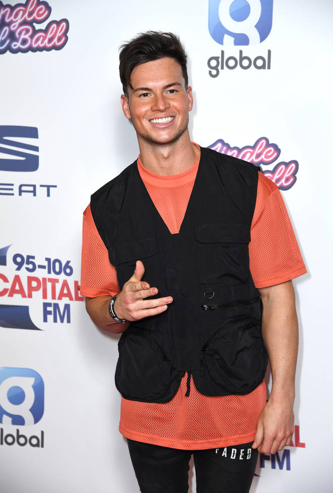 Joel Corry hit the #CapitalJBB carpet looking super stylish