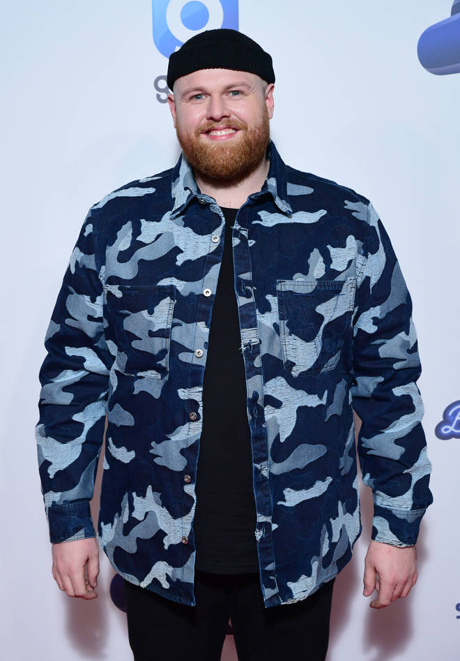 Tom Walker rocked a camo jacket at the #CapitalJBB