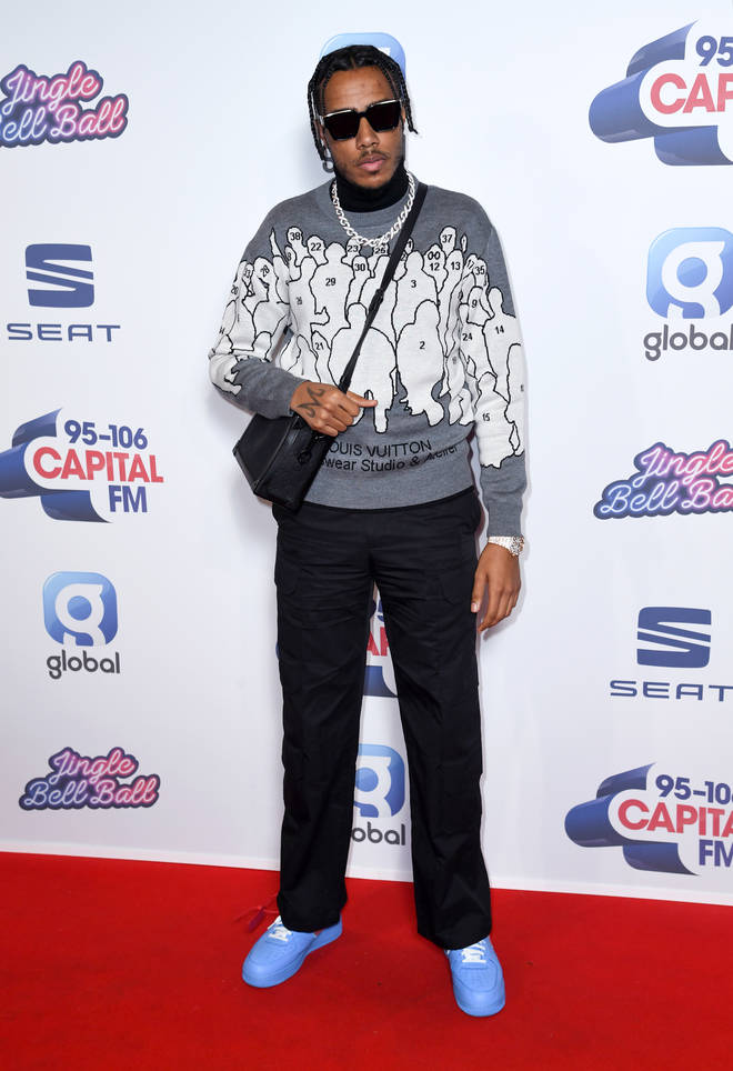 AJ Tracey looked like a style icon at JBB