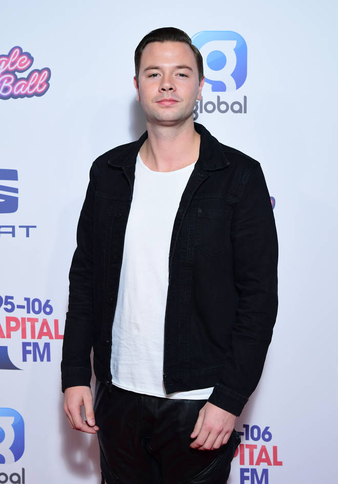 Sam Feldt on the red carpet at Capital's Jingle Bell Ball 2019