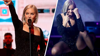 Anne-Marie opened night two of the Jingle Bell Ball