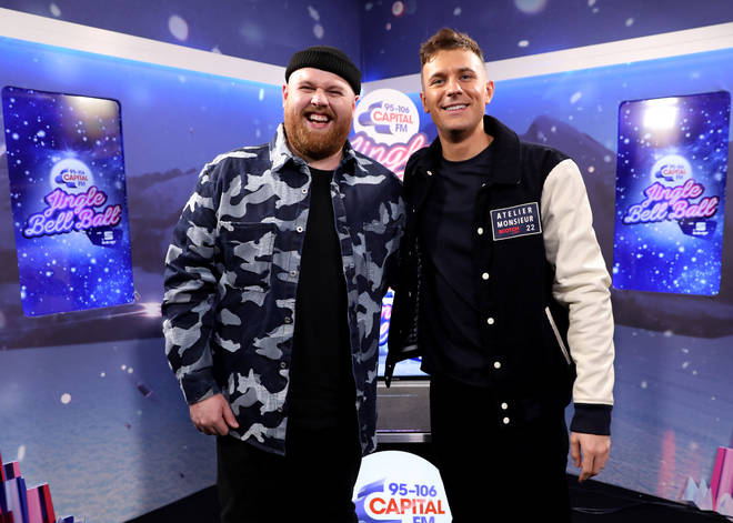 Tom Walker joined Jimmy Hill backstage at Capital's Jingle Bell Ball