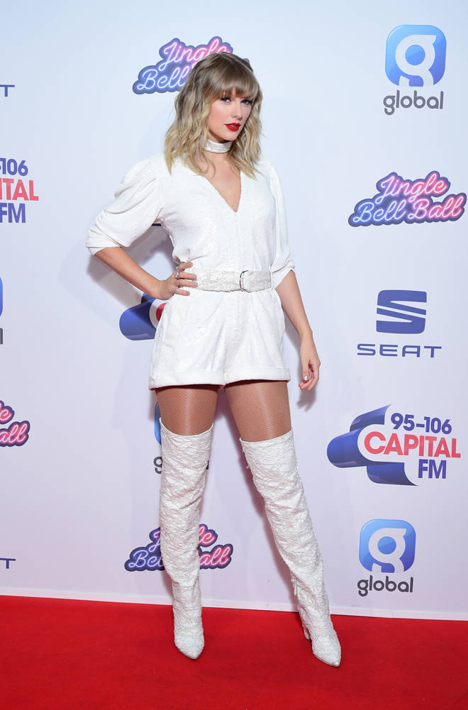 Taylor Swift slayed on the red carpet