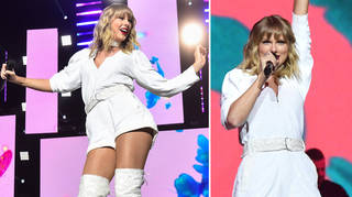 Taylor Swift performed a medley of her hits at the JBB