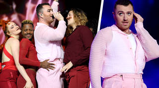 Sam Smith brought the house down with their club hit set