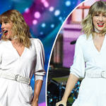 Taylor Swift performed her new Christmas song at the JBB