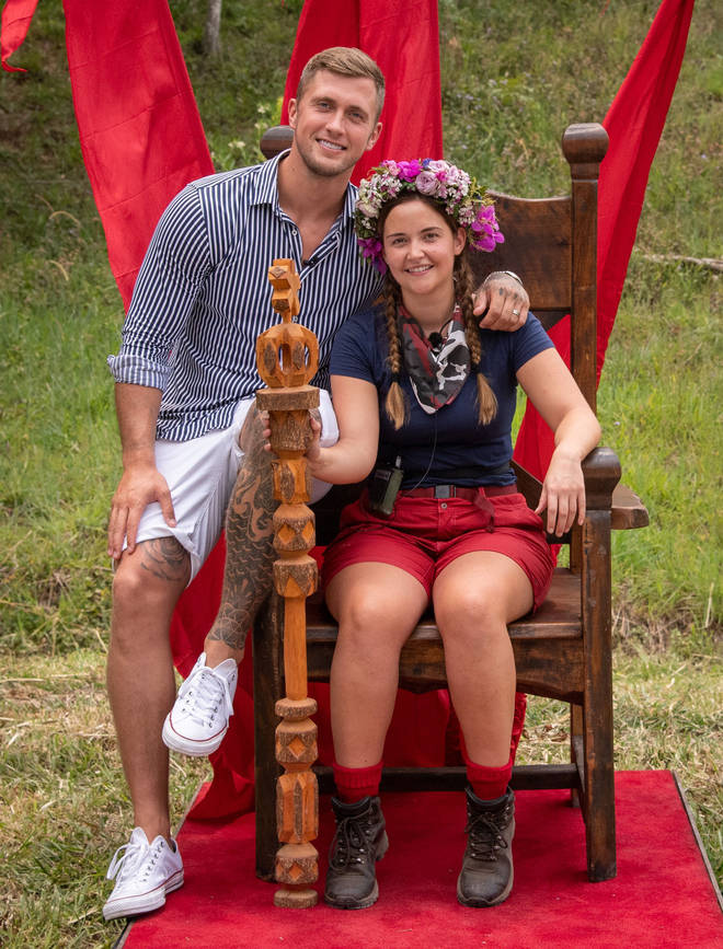Jacqueline Jossa was crowned queen of the jungle