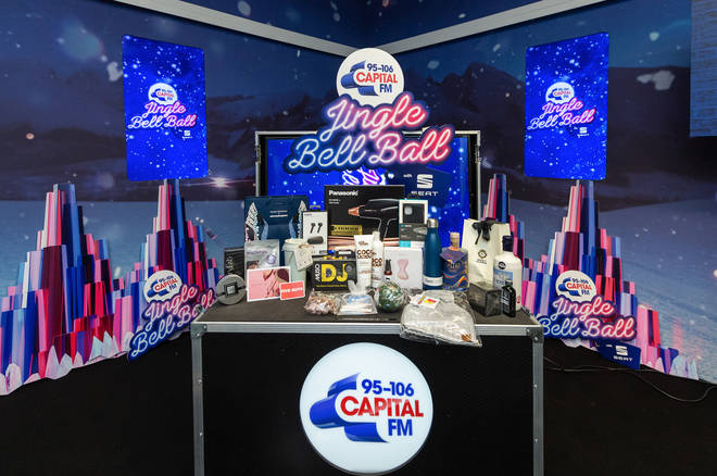 Win a 2019 Jingle Bell Ball gift bag