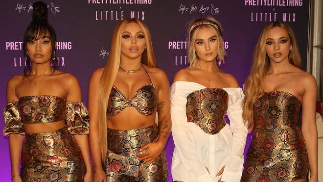 Little Mix at the launch of their PrettyLittleThing collection