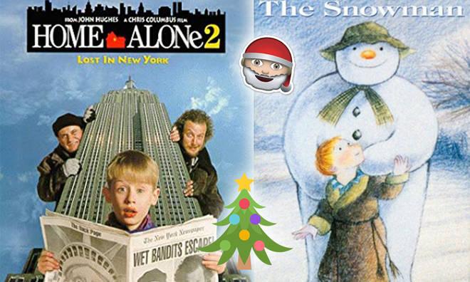 Christmas Day's festive films