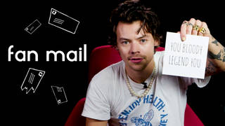 Harry Styles answers your questions in 'Fan Mail'