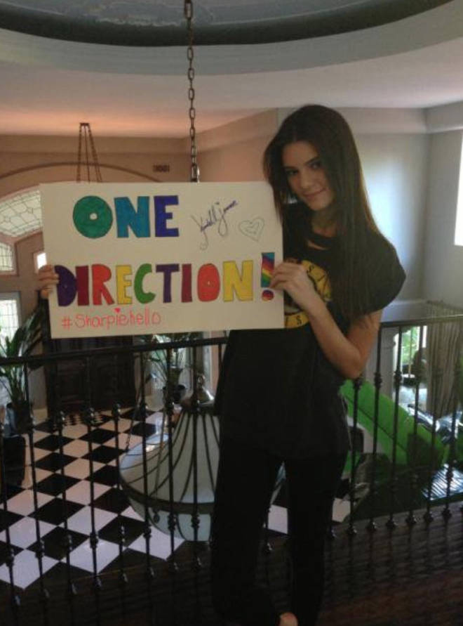 Kendall Jenner was a true Directioner – after sharing this picture