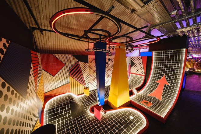 Birdies in Battersea offers an immersive crazy-golf experience like no other