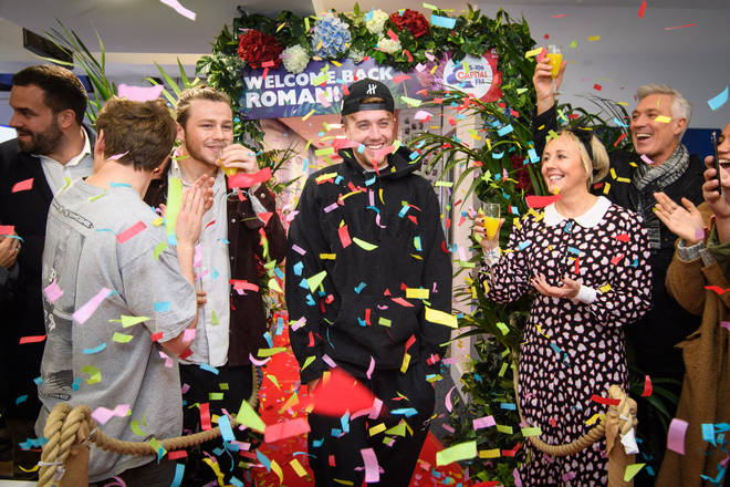 Capital hosted a party for Roman Kemp's return