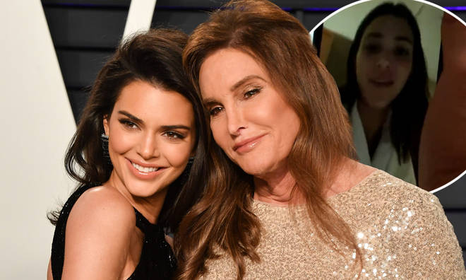 Kendall Jenner surprised her dad with a FaceTime call after she left the jungle